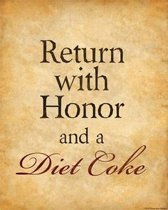 i love you diet coke.