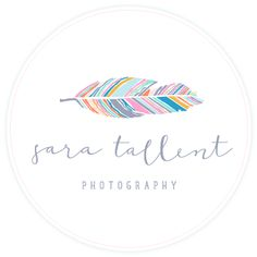 Sara Tallent Photography logo by Red Met Yellow Creative