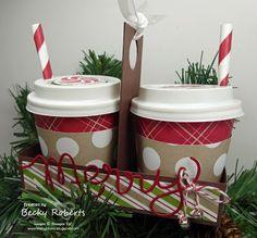Inking Idaho: Merry Little Coffee Cups
