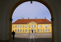 The Roskilde Palace (1732/3–1736) in Roskilde, Denmark, designed by Lauritz de Thurah (1706-1759) and now housing  the Museum of Contemporary Art Museum of Contemporary Art, the Roskilde Art Association, and the Palace Collections. It is adjacent to Roskilde Cathedral, which is a UNESCO site.