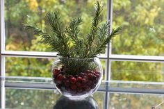 Holiday Centerpieces by Savour Fare, via Flickr