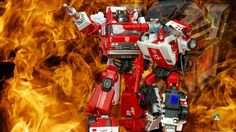 #MP14 #Alert  (Red Alert) with #maketoys #hellfire #inferno #Transformers
