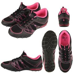 Pink Ribbon Sport Shoes - Every Purchase Funds Mammograms for Women in Need.