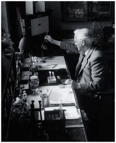 Alexander Flemming, Scottish scientist and bacteriologist and discoverer of penicillin was born 6th August, 1881,