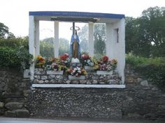 Marian shrine, near Aughrim in Wicklow, by jaqian