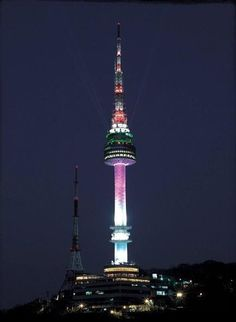 Cool 62 Beautiful Images of Namsan Seoul Tower, South Korea Check more at http://dougleschan.com/the-recruitment-guru/namsan-seoul-tower/69-beautiful-images-of-namsan-seoul-tower-south-korea/