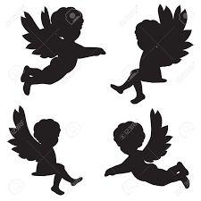 silueta angelito vector - Buscar con Google