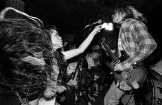 Nirvana, Los Angeles, 1990, Charles Peterson