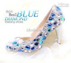 Diamante Bianco Strass Dimensione Europa 35 39 Promenade Del Partito Di Sera Delle Donne Nuziali Scarpe D