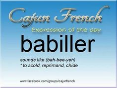 What are some common Cajun expressions?