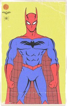Spider-Man+Batman+Superman