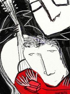 """Flyer para """"el Acompañamiento"""" obra de teatro de Carlos Gorostiza. (2013)"""