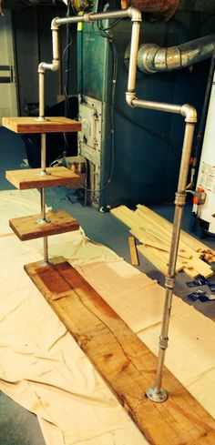 DIY - Industrial Garment Rack | Invisibly Imperfect