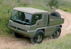 HMUV military-grade 4x4 / JCB