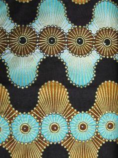 African Fabric Diamond Woodin 6 Yards 100 Cotton by Africanpremier