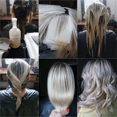 Balayage Blonde Polaire Olaplex Joico Bymia Marseille