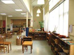 Interior of Montessori School