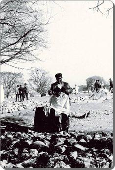 Sokak berberi, Fatih, 1960'lar