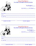 Invoice Form – Daycare Form   Daycare   Pinterest   Daycare forms ...
