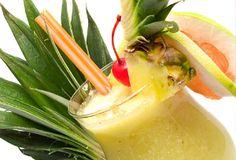 Alcoholic Cocktail Pina Colada