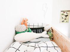 DIY hoogslaper met IKEA NORDLI kasten Ikea Nordli, Ikea Bed Hack, Bedroom Built Ins, Ikea Kids, Best Ikea, Toddler Bed, Kids Room, House Design, Furniture