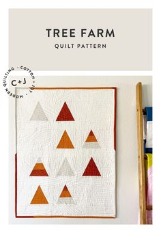 Autumn Breeze - My QuiltCon 2019 Entry - Cotton and Joy Farm Quilt Patterns, Modern Quilt Patterns, Triangle Quilts, Contemporary Quilts, Geometric Designs, Breeze, Charity, Quilting, Autumn