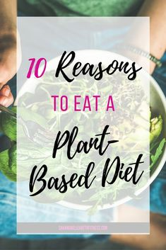 Want to try a plant-based diet but aren't sure what the benefits are? Read to learn more about a plant-based diet and how it can help you lead your healthiest life! Healthy Vegetarian Diet, Healthy Protein, Healthy Fats, Vegetarian Recipes, Healthy Eating, Healthy Recipes, Crockpot Recipes, Diet Recipes, Plant Based Eating