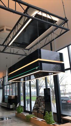 Unsere Ausstellungsküche mit einer berbel Skyline Edge im Industry Loft Style by Ebbecke-excellent einrichten