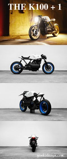 You're probably wondering what the K101 is. You've heard of the BMW K100, but not the K101. The K101 is the handcrafted child of the K100, with a few tweaks that the attentive gearhead will notice. Read more at www.yankodesign.com