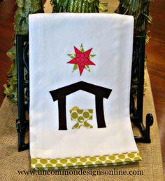 #Appliqued #Nativity #Towels   Uncommon