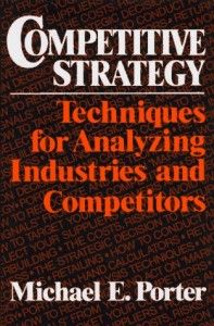 """""""Competitive Strategy: Techniques for Analyzing Industries and Competitors"""" by Michael E. Porter is a classic business strategy text and must reading for anybody who has a serious interest in business strategy."""