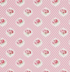 Sweetie Rose in Pink Petal by Tanya Whelan 1 by chitchatfabrics, $9.25