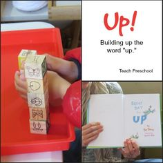 Building up the word up by Teach Preschool