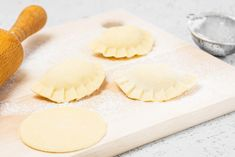 This basic pierogi dough recipe is a simple combination of flour, eggs, water, and salt. Learn how to make it with these step-by-step instructions. Polish Pierogi Dough Recipe, Potato And Cheese Pierogi Recipe, Perogie Dough Recipe, Polish Recipes, Polish Food, Polish Desserts, Polish Nails, 3d Nails, Polish Dumplings