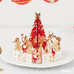 Bands Without Stones Painstaking 2019 3d Pop Up Santas Sleigh Greeting Card Merry Christmas Wedding Postcard Gift Hot Crazy Price Wedding & Anniversary Bands