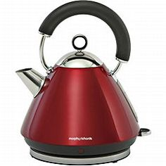 Morphy Richards 43772 Pyramid Accents Kettle Red £37.12 Sainsburys