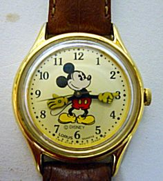 Mickey Mouse Quartz Watch, Disney. Of course I had on!