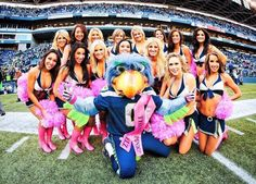 Great picture of Blitz - Seattle Seahawks, Mascot