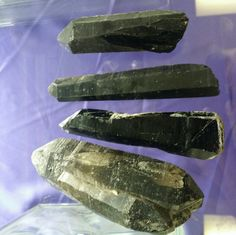 Black Quartz points!