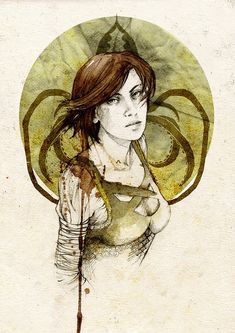Asha Greyjoy, by Elia Mervi