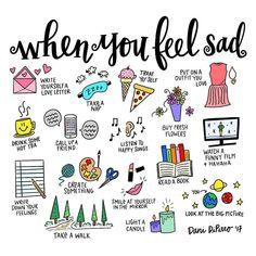 Self care doodles, bullet journal Feeling Sad, How Are You Feeling, Feeling Down, Not Feeling Well, Vie Motivation, Vie Positive, Positive Vibes, Positive Quotes, Mental Training