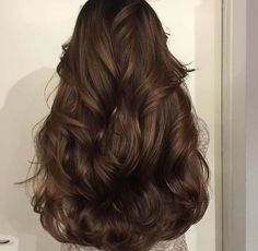 Long Wavy Ash-Brown Balayage - 20 Light Brown Hair Color Ideas for Your New Look - The Trending Hairstyle Wavy Hair, New Hair, Blonde Hair, Thick Hair, Long Brown Hair, Frizzy Hair, Hair Inspo, Hair Inspiration, Aesthetic Hair