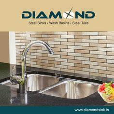 This New Year, resolve to get away with the old and bring in the new... starting with your kitchen sink. Switch to Diamond Sink for great value, long lasting advantage and sparkling sheen. Explore the complete range @ www.diamondsink.in #SteelSink #DiamondSink #NewYear2016 #SteelKitchenSink #Sink #Kitchen #KitchenSinks