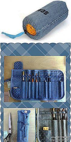 Из джинсов | Идеи из ткани | Постила