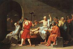 Jacques-Louis David, La mort de Socrate, 1787