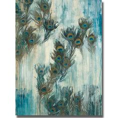 @Overstock.com.com - Liz Jardine 'Proud as a Peacock' Canvas Art - Artist: Liz JardineTitle: Proud as a PeacockProduct Type: Canvas Art  http://www.overstock.com/Home-Garden/Liz-Jardine-Proud-as-a-Peacock-Canvas-Art/8046950/product.html?CID=214117 $153.93