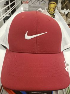 78b9888c149d5 NIKE GOLF LEGACY 91 TOUR MESH STRETCH FITTED HAT- Maroon   White Size M L   fashion  clothing  shoes  accessories  mensaccessories  hats (ebay link)
