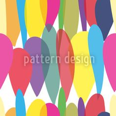 Multi Balloons designed by Susanne Jocham available on patterndesigns.com Vector Pattern, Pattern Design, Repeating Patterns, New Years Eve, Surface Design, Balloons, Color, Art, Art Background