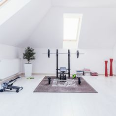 Properly spacing out your home gym equipment can help you work out more efficiently and keep you from getting injured as well.
