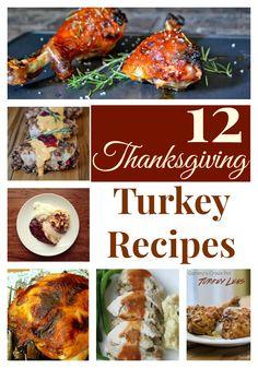 12 Thanksgiving Turkey Recipes